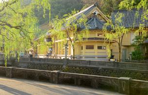 城崎温泉街の町並の写真素材 [FYI02672083]