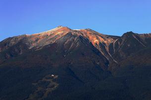 10月 秋の御嶽山の写真素材 [FYI02672112]