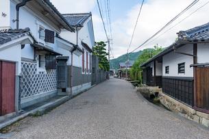五個荘金堂の町並み,あきんど通りの写真素材 [FYI02672143]