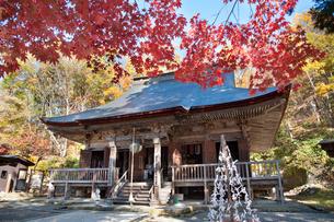 秋の若松寺の写真素材 [FYI02672149]