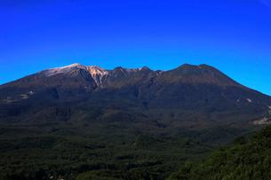 10月 秋の御嶽山の写真素材 [FYI02672156]
