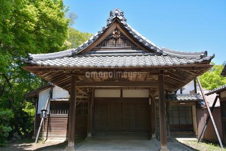 旧彦根藩松原下屋敷庭園の玄関棟の写真素材 [FYI02672211]