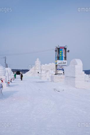 あばしりオホーツク流氷まつりの写真素材 [FYI02672228]
