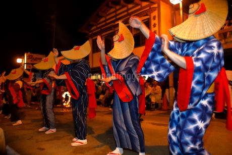 8月 秋田の西馬音内盆踊りの写真素材 [FYI02672355]