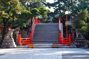 12月大阪 住吉大社の写真素材 [FYI02672357]