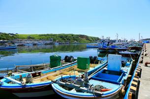 7月夏 北海道の花咲港の写真素材 [FYI02672416]