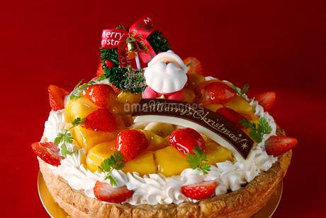 クリスマスケーキの写真素材 [FYI02672441]