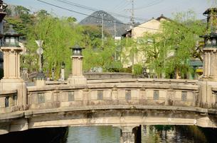 城崎温泉街の町並の写真素材 [FYI02672496]