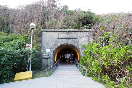旗津星空隧道の写真素材 [FYI02672528]