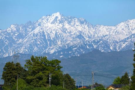 立山連峰 剱岳の写真素材 [FYI02672543]