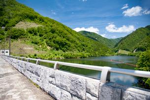金山町神室ダムの写真素材 [FYI02672588]