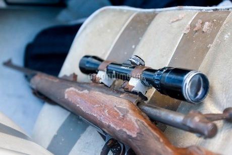 狩猟の銃の写真素材 [FYI02672607]