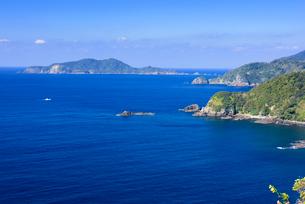 落水展望所かの沖秋目島の写真素材 [FYI02672624]