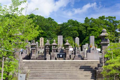 南洲墓地の写真素材 [FYI02672676]
