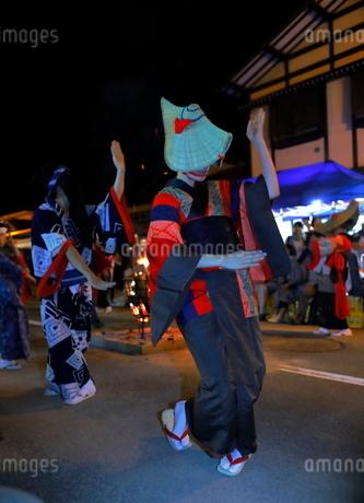 8月 秋田の西馬音内盆踊りの写真素材 [FYI02672718]