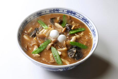 醤油ちゃんぽん麺の写真素材 [FYI02672766]