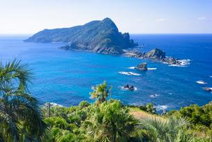 沖秋目島を望むの写真素材 [FYI02672768]