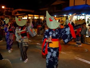 8月 秋田の西馬音内盆踊りの写真素材 [FYI02672782]