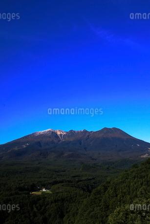 10月 秋の御嶽山の写真素材 [FYI02672838]