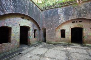 和歌山県友ヶ島の第三砲台跡の写真素材 [FYI02672868]