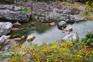 見立渓谷の秋の写真素材 [FYI02672918]