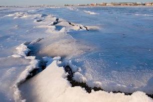 氷の裂け目の写真素材 [FYI02673044]