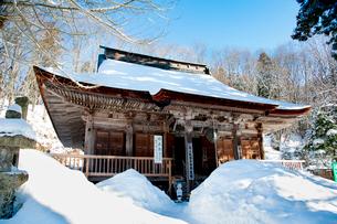 冬の若松寺の写真素材 [FYI02673096]
