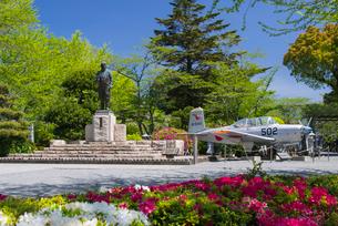春の特攻平和公園の写真素材 [FYI02673098]