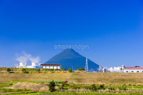 山川地熱発電所の写真素材 [FYI02673104]