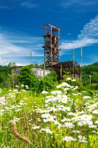 旧住友奔別炭鉱の写真素材 [FYI02673124]