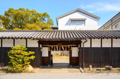 灘の酒蔵 神戸酒心館の写真素材 [FYI02673213]