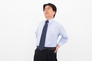 ワイシャツ姿の男性の写真素材 [FYI02673222]