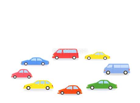8台の車の写真素材 [FYI02673271]
