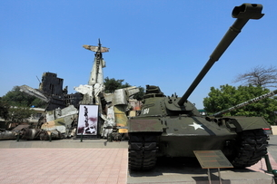 ベトナム軍事歴史博物館の写真素材 [FYI02673317]