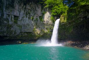 夏のうのこの滝の写真素材 [FYI02673345]
