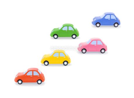 5台の車の写真素材 [FYI02673414]