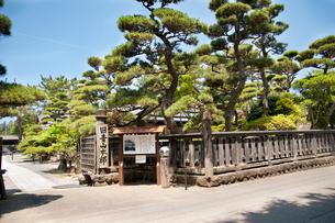 旧青山本邸入口の写真素材 [FYI02673424]