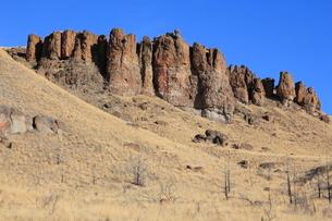 ジョン・デイ化石層国定公園のクラーノ・ユニットの写真素材 [FYI02673483]