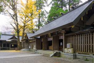 秋の天岩戸神社 西本宮の写真素材 [FYI02673503]