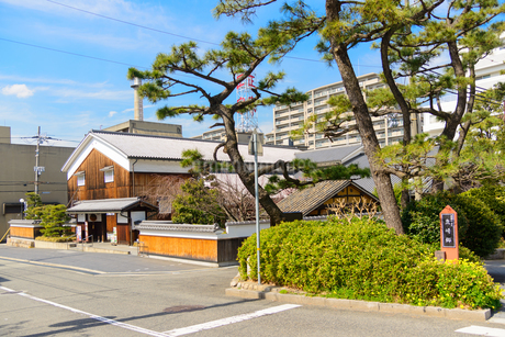 灘の酒蔵 菊正宗酒造記念館の写真素材 [FYI02673504]