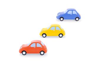 3台の車の写真素材 [FYI02673699]