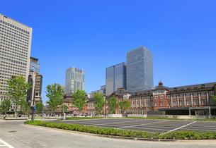 東京駅赤レンガ駅舎の写真素材 [FYI02673782]