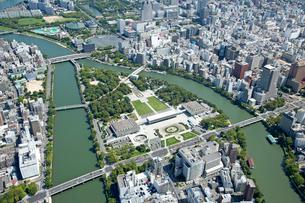 広島市の航空写真の写真素材 [FYI02673885]
