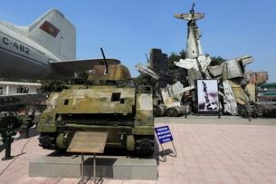ベトナム軍事歴史博物館の写真素材 [FYI02674019]