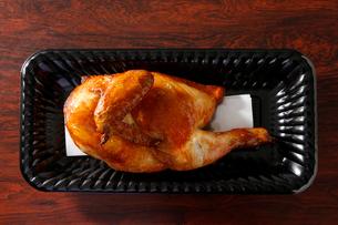 鶏の半身上げの写真素材 [FYI02674070]