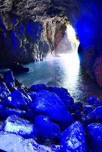 青の洞窟の写真素材 [FYI02674520]