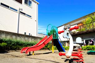 本郷四丁目児童遊園の写真素材 [FYI02674529]