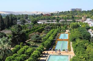 アルカサルの庭園の写真素材 [FYI02674719]