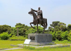 ムスタファ・ケマル・アタテュルク騎馬像の写真素材 [FYI02674752]