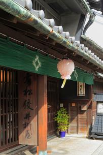 旧東海道 有松の商家の写真素材 [FYI02674809]
